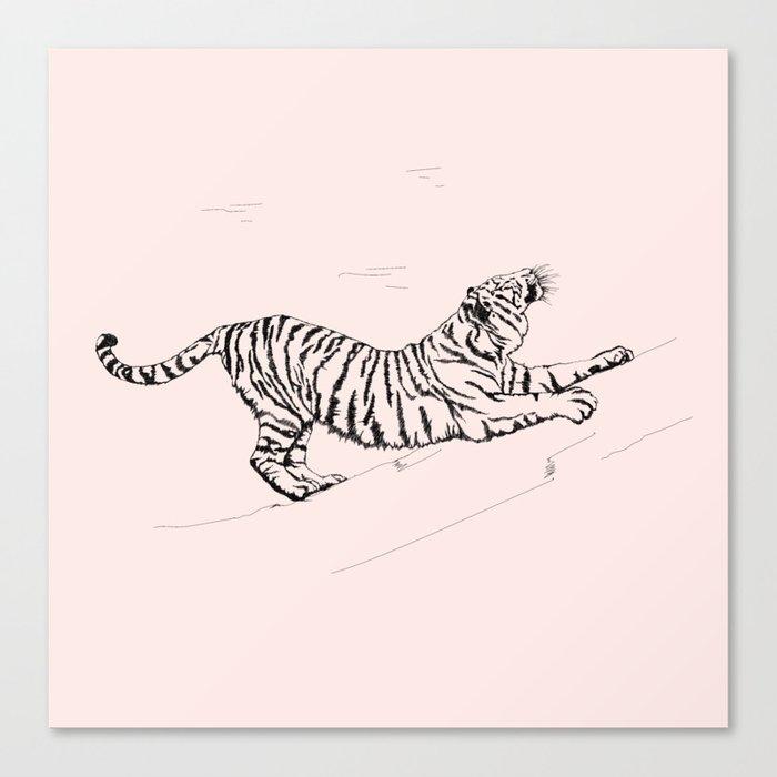 Tiger and Sun I. Canvas Print