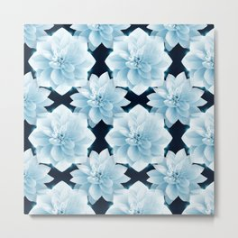 Lotus Flowers Metal Print