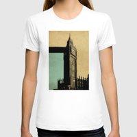 ben giles T-shirts featuring Big Ben by sinonelineman