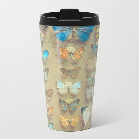 The Butterfly Collection II Metal Travel Mug