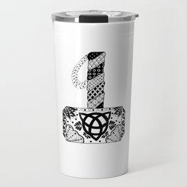 Mjolnir Mandala Travel Mug