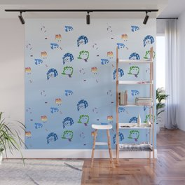 inside out repeat Wall Mural