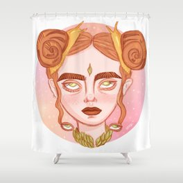 Gstrpd Shower Curtain