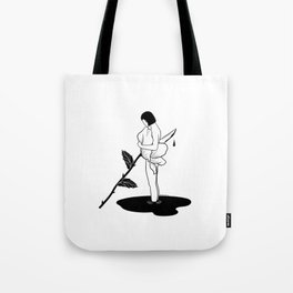 Betrayal grows within trust Tote Bag
