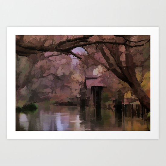 Livin On The Bayou Art Print