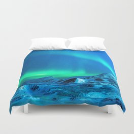 Northern Lights (Aurora Borealis) 3. Duvet Cover
