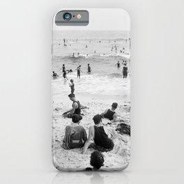 Long Beach California Vintage Photo, 1920s iPhone Case