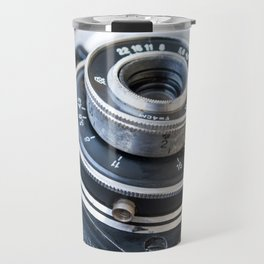 Photo of the old Soviet camera Travel Mug