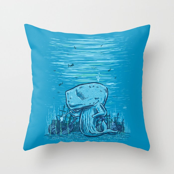 Catch me if you can Throw Pillow