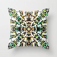 Autumn Mandala (Square) Throw Pillow