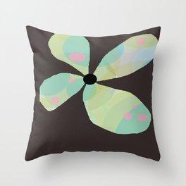 FLOWERY  KAYA / ORIGINAL DANISH DESIGN bykazandholly Throw Pillow