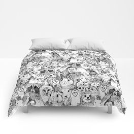 love and hugs Comforters