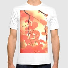 Ablaze With Color MEDIUM Mens Fitted Tee White