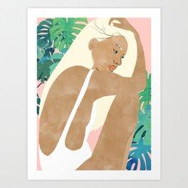 Summer Dreams #painting #illustration Art Print