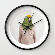 Therianthrope - Parrot Wall Clock