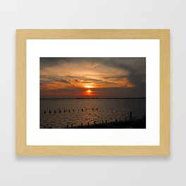 Won't Say Goodbye Framed Art Print