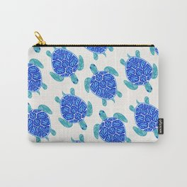 Sea Turtle – Blue Palette Carry-All Pouch