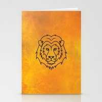 courage Stationery Cards featuring Courage by Alex Ink