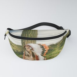 Nude Cactus Girl 2542 Fanny Pack