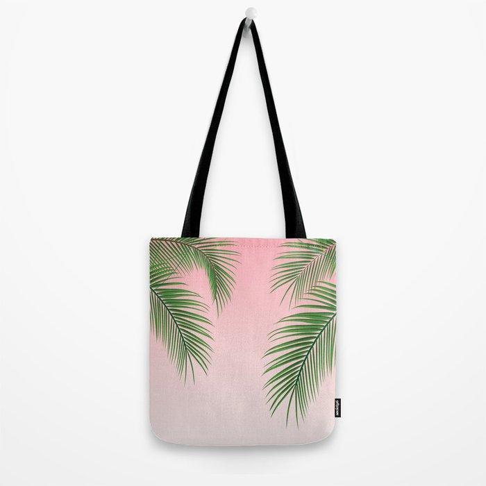 Palm Tree Leaves Tote Bag