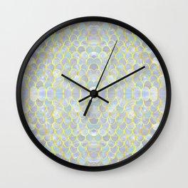 opalescent mermaid Wall Clock