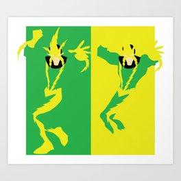 Electro Art Print