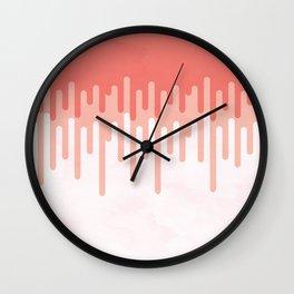 Salmon melt Wall Clock