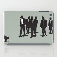 reservoir dogs iPad Cases featuring Reservoir Dogs by Clayton Dixon