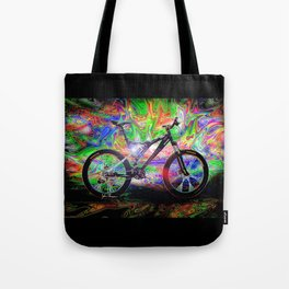 Psychedelic MT Bike Tote Bag