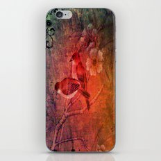 Your Little Birdie Told Me. iPhone Skin