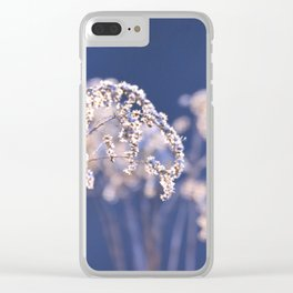 Out of the Blur Clear iPhone Case