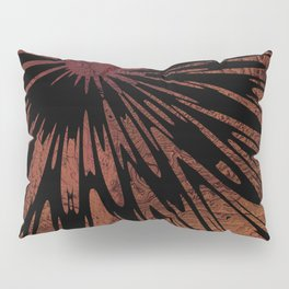 Native Tapestry in Burnt Umber Pillow Sham