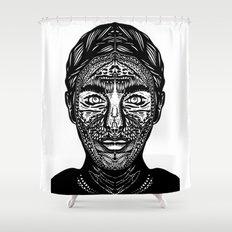 Mina Harker Shower Curtain