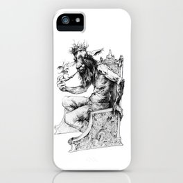 Goat King iPhone Case