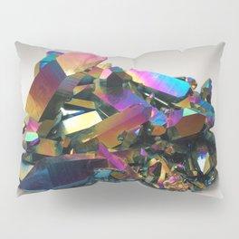 Titanium Rainbow Aura Quartz 1 Pillow Sham