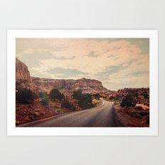 Desert Solitude Art Print