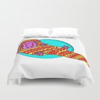 platypus Duvet Covers featuring Platypus by Ruth Wels