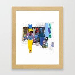 Kedougou Market Framed Art Print