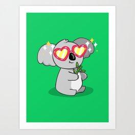 Fabulous Koala Art Print