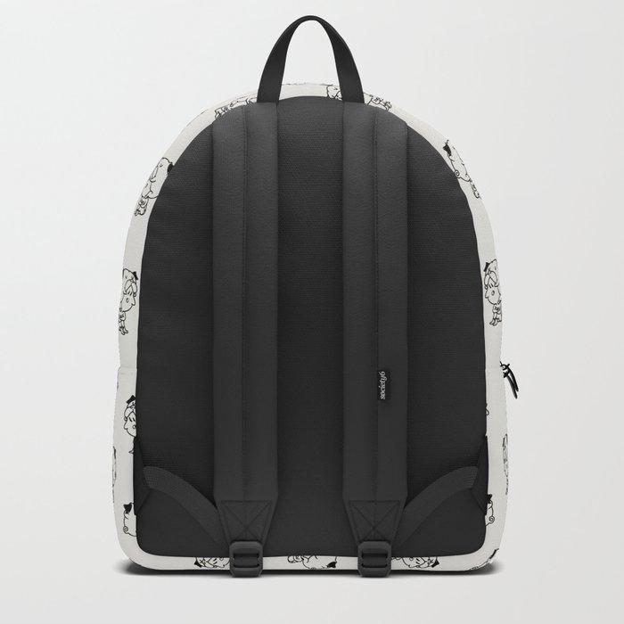 Cuddly Pug Backpack