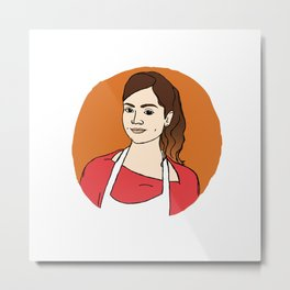 souffle girl Metal Print
