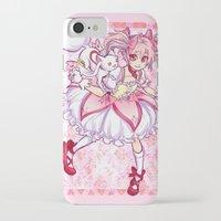 madoka iPhone & iPod Cases featuring Madoka by Alyssa Tye