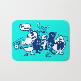 Monsters Want To Be Heard Too Bath Mat