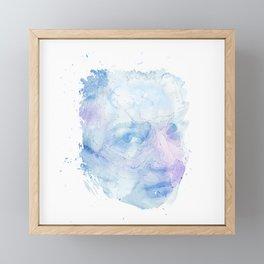 lady of the sea Framed Mini Art Print
