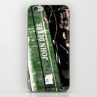 john green iPhone & iPod Skins featuring John Deere by Captive Images Photography
