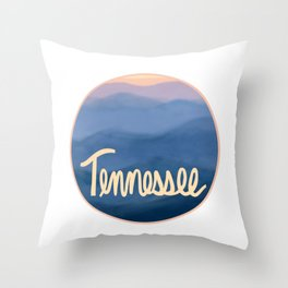 Tennessee Circle Throw Pillow