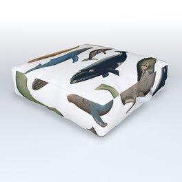whales Outdoor Floor Cushion