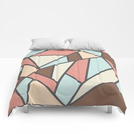 Geometric Colour Pattern V2 Comforters