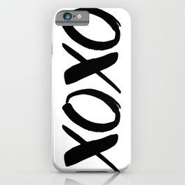 XOXO - Hugs and Kisses iPhone Case