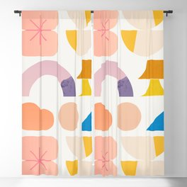 Abstraction_SPRING Blackout Curtain